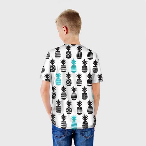 Детская футболка 3D Ананасы 7 Фото 01