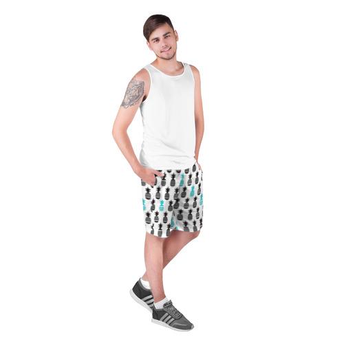 Мужские шорты 3D Ананасы 7 Фото 01