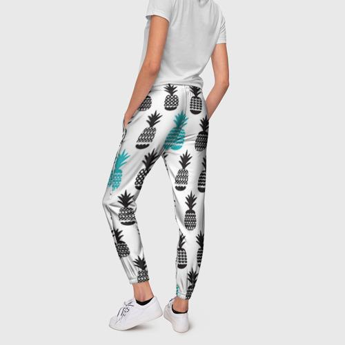 Женские брюки 3D Ананасы 7 Фото 01