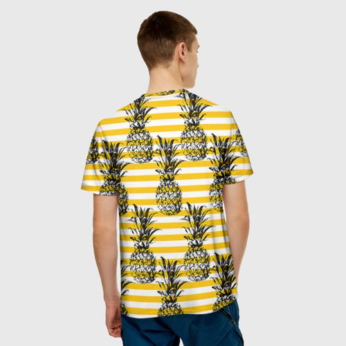 Мужская футболка 3D  Фото 02, Ананасы 9