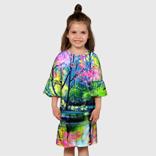Детское платье 3D  Фото 01, Рисунок