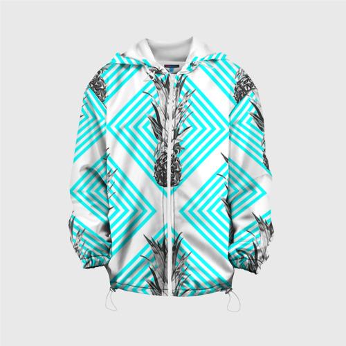 Детская куртка 3D  Фото 01, Ананасы 15