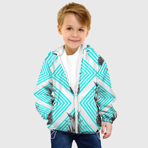 Детская куртка 3D  Фото 03, Ананасы 15