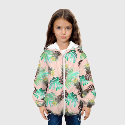 Детская куртка 3D  Фото 04, Ананасы 20