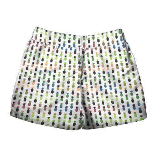 Женские шорты 3D  Фото 02, Ананасы 25