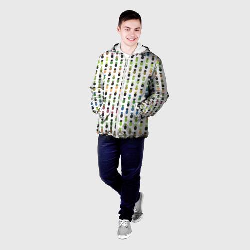 Мужская куртка 3D  Фото 03, Ананасы 25