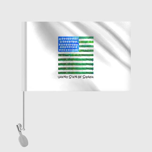 Флаг для автомобиля  Фото 02, Сибирь
