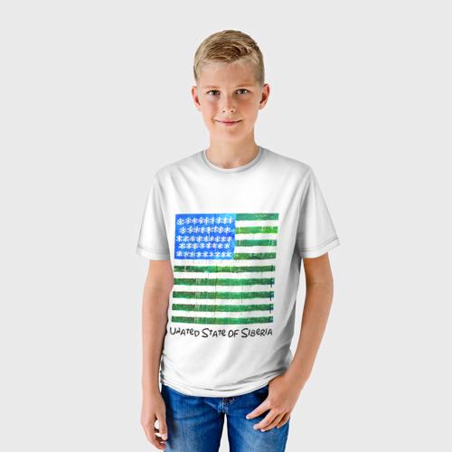 Детская футболка 3D Сибирь