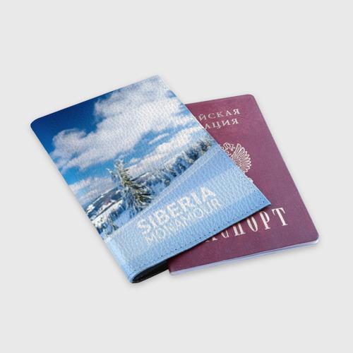 Обложка для паспорта матовая кожа  Фото 03, Сибирь