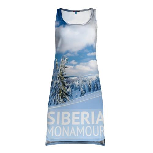 Платье-майка 3D Сибирь