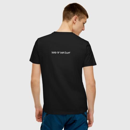 Мужская футболка хлопок Dead by Daylight White Logo Фото 01