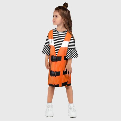 Детское платье 3D  Фото 03, Матрос