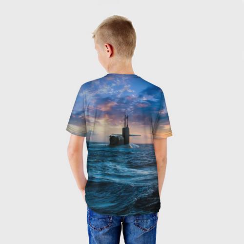 Детская футболка 3D Подводная лодка Фото 01