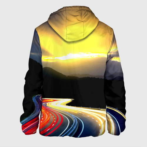 Мужская куртка 3D  Фото 02, Ночная дорога