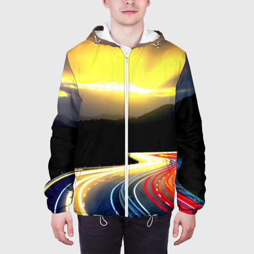 Мужская куртка 3D  Фото 04, Ночная дорога