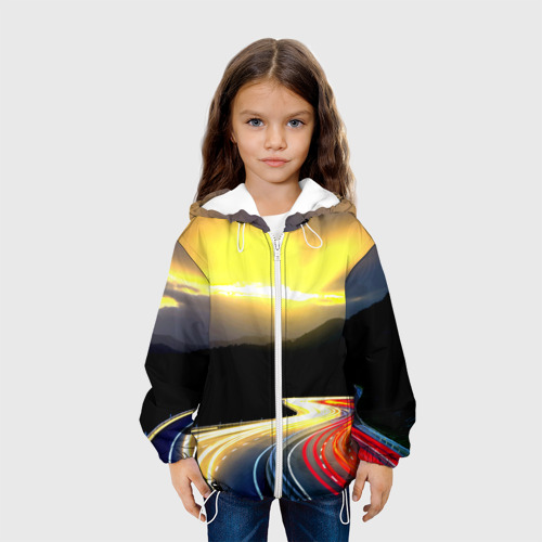 Детская куртка 3D  Фото 04, Ночная дорога