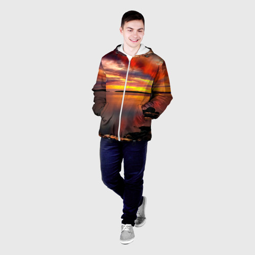 Мужская куртка 3D  Фото 03, Закат