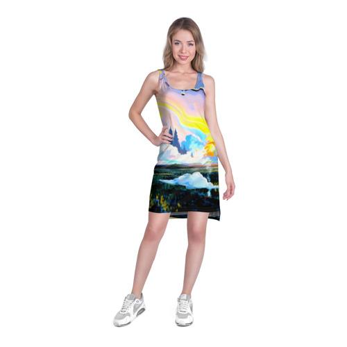 Платье-майка 3D  Фото 03, Картина