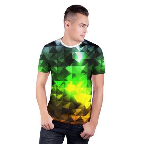 Мужская футболка 3D спортивная  Фото 03, Party 1