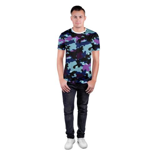 Мужская футболка 3D спортивная  Фото 04, Камуфляж