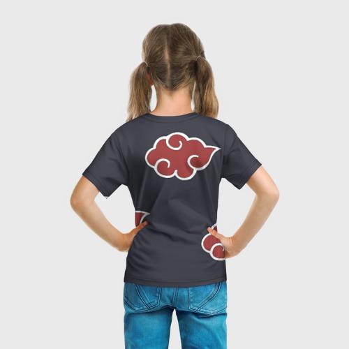 Детская футболка 3D Акатсуки Фото 01