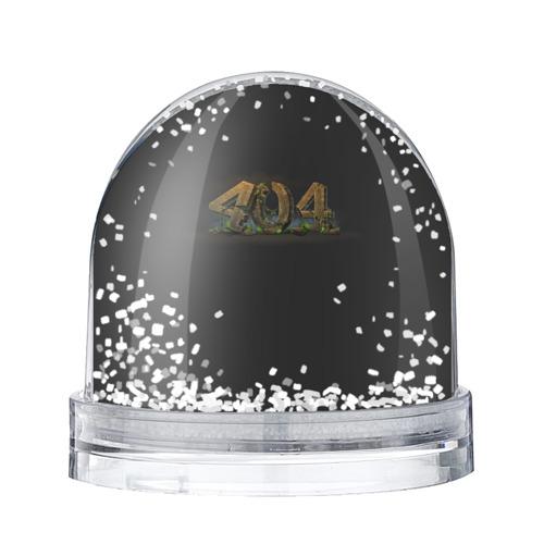 Водяной шар со снегом 404