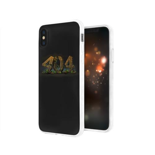 Чехол для Apple iPhone X силиконовый глянцевый  Фото 03, 404