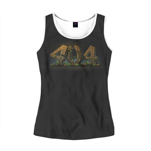 Женская майка 3D 404