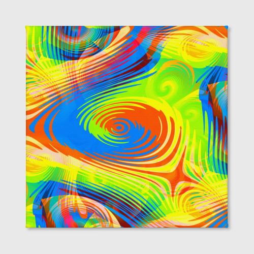 Холст квадратный  Фото 02, Tie-Dye