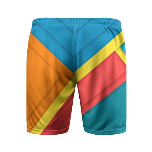 Мужские шорты 3D спортивные  Фото 02, Линии