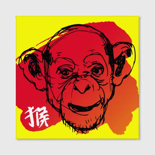 Холст квадратный  Фото 02, Fire Monkey