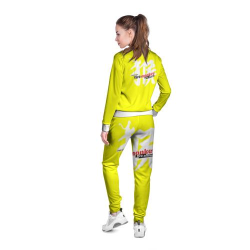 Женская олимпийка 3D  Фото 04, Fire Monkey