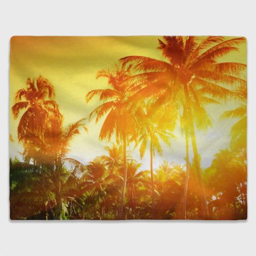 Плед 3D  Фото 03, Пальмы