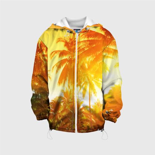 Детская куртка 3D  Фото 01, Пальмы