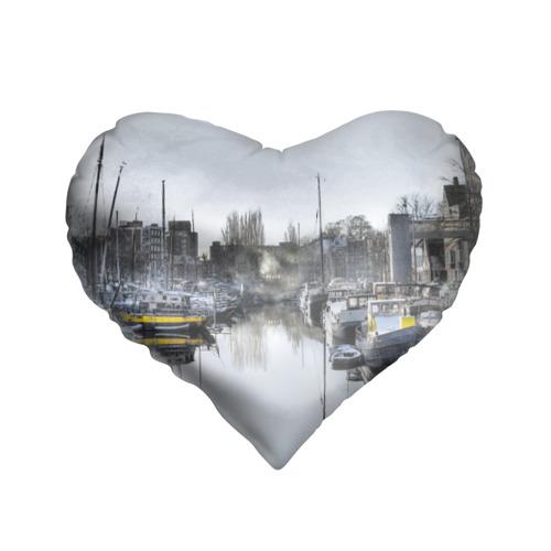 Подушка 3D сердце  Фото 01, Венеция