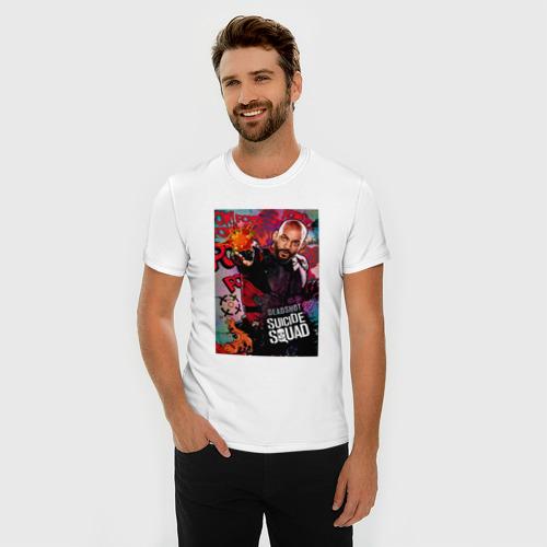 Мужская футболка премиум  Фото 03, Дэдшот