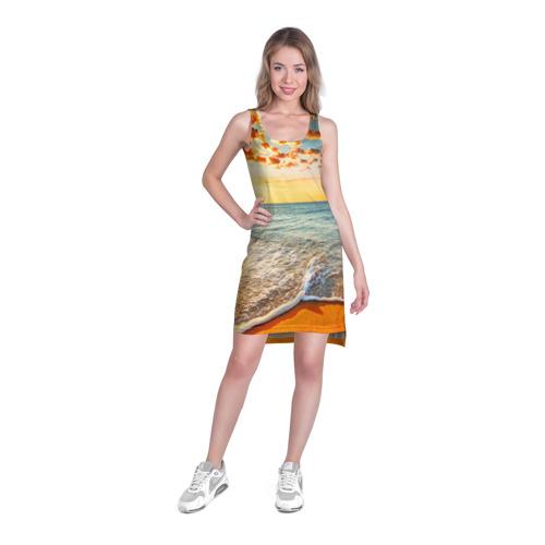 Платье-майка 3D  Фото 03, Лазурный берег