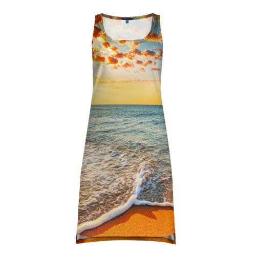 Платье-майка 3D  Фото 01, Лазурный берег
