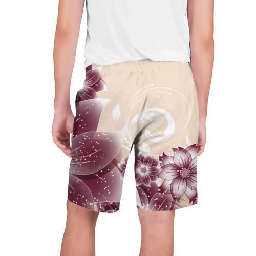 Мужские шорты 3D  Фото 02, flowers