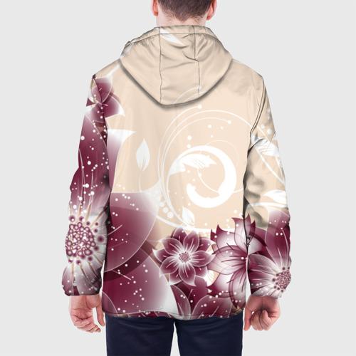 Мужская куртка 3D  Фото 05, flowers