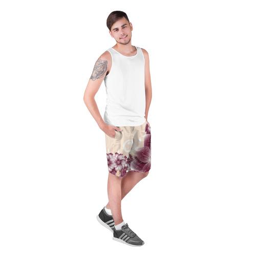 Мужские шорты 3D  Фото 03, flowers