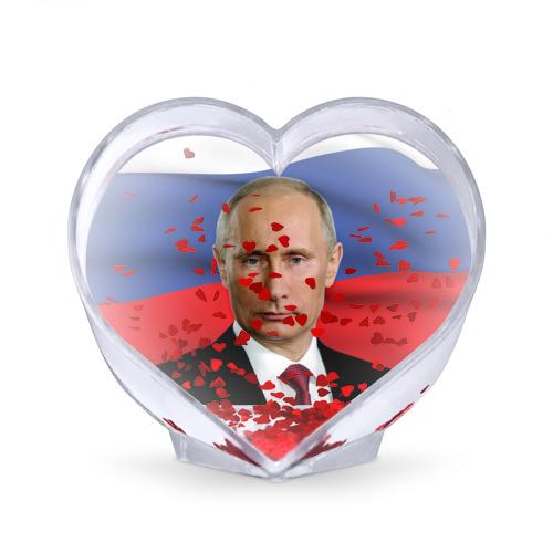 Сувенир Сердце  Фото 02, Путин Владимир Владимирович