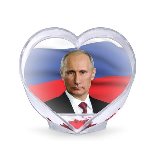 Сувенир Сердце  Фото 01, Путин Владимир Владимирович