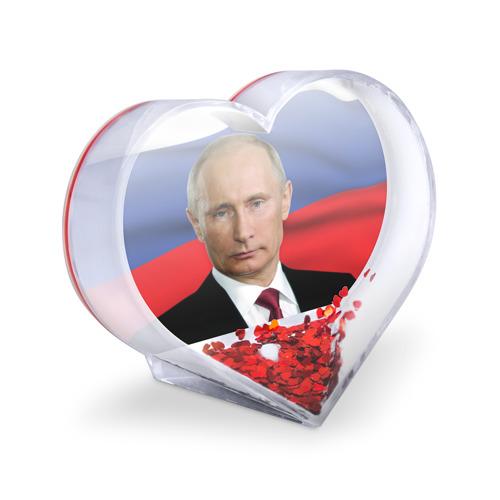 Сувенир Сердце  Фото 03, Путин Владимир Владимирович