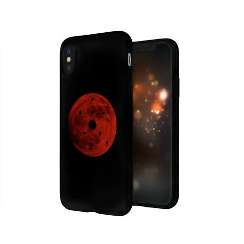 Чехол для Apple iPhone X силиконовый глянцевый  Фото 03, Бесконечный Цукуёми