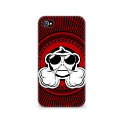 Чехол для Apple iPhone 4/4S 3DVape Monkey