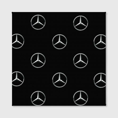 Холст квадратный  Фото 02, Mercedes