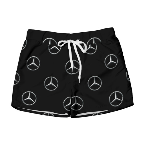Женские шорты 3D Mercedes