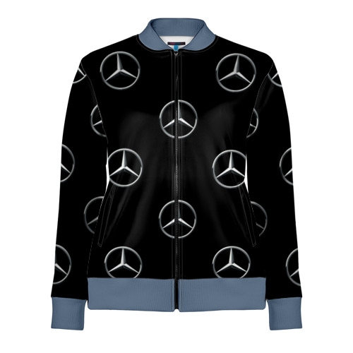 Женская олимпийка 3D Mercedes
