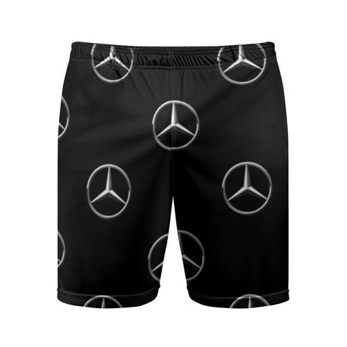 Мужские шорты 3D спортивные Mercedes